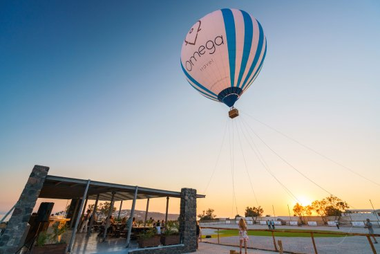 Karteradhos, Greece: Tethered hot air balloon rides by Omega Travel