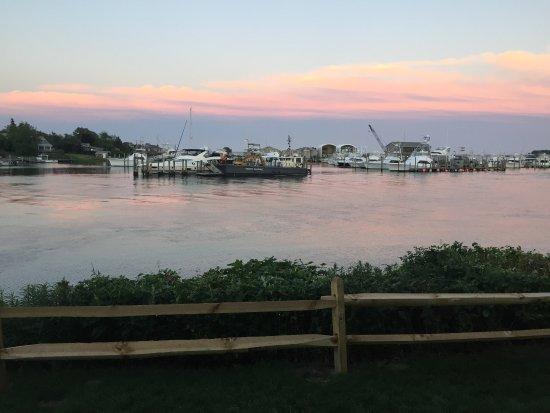 Hampton Bays, NY: Bay view