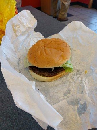 Albany, OR: Hamburger at Burger Queen