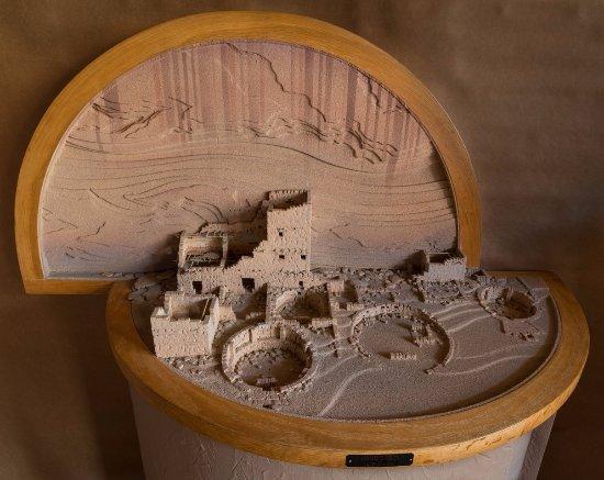 Van Buren, AR: Antelope House model