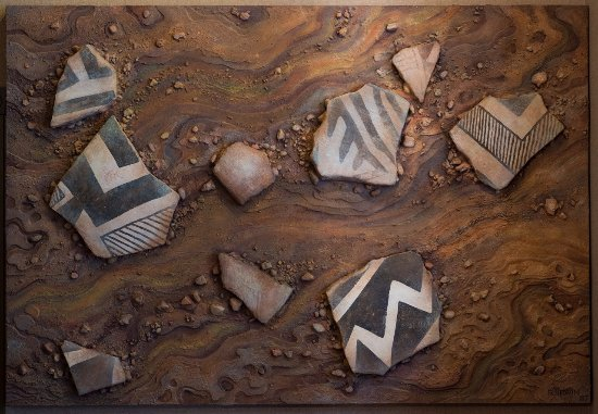 Van Buren, AR: Anasazi Shards mural