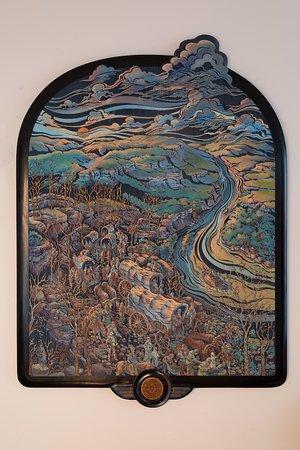 Van Buren, AR: Trail of Tears mural