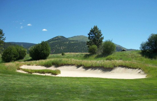 Missoula, MT: Canyon River Golf Club typical sand trap