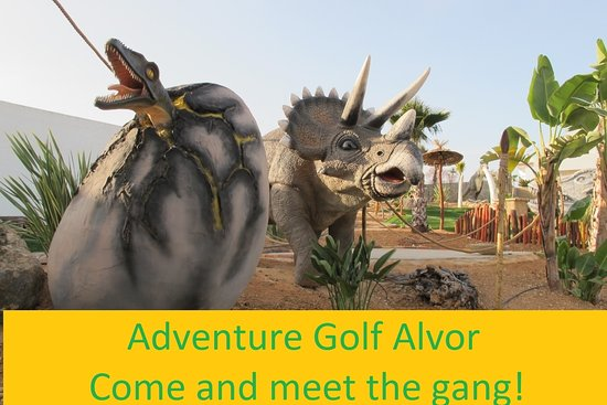 Adventure Golf Alvor, Algarve
