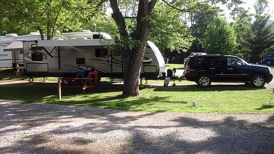 Richmond, IN: Our campsite