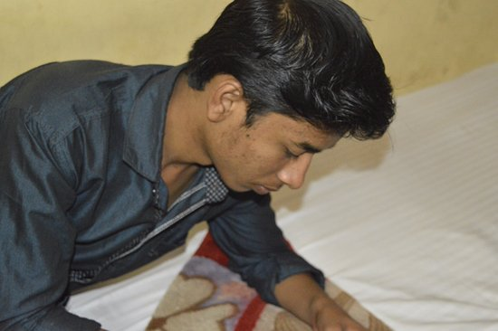 Sunder Palace Guest House: me in the room