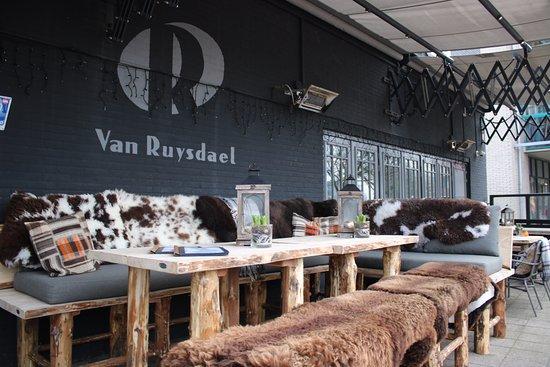 Heemskerk, The Netherlands: Winterterras