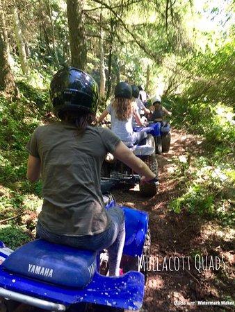 Ilfracombe, UK: Mullacott Quad Bike Experience