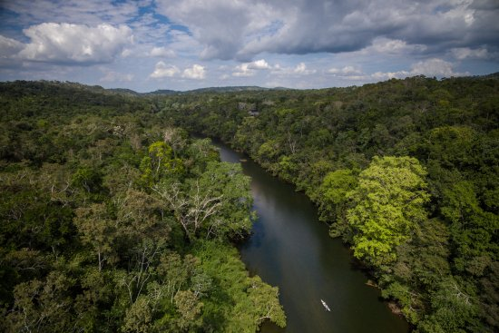 Table Rock Jungle Lodge: Canoe the Macal River