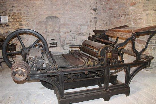 Sassoferrato, İtalya: Tipografia la stampatrice
