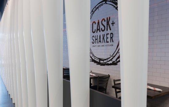 Cask + Shaker at Paragon Wellington