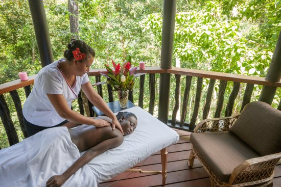 Table Rock Jungle Lodge: In-Room Massage