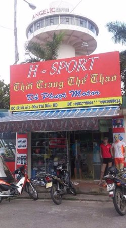 Hai Duong Province, Βιετνάμ: Backpacker Shop and Bike for rent in Hai Duong, we do city tour