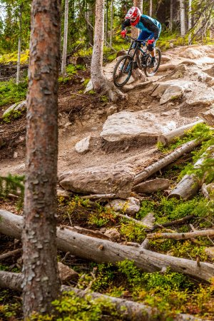 Winter Park, CO: Steep and rocky for more advanced riders Photo: Chris Wellhausen