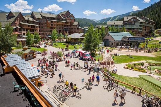 Winter Park, CO: The village is full for Colorado Freeride Festival Photo: Chris Wellhausen