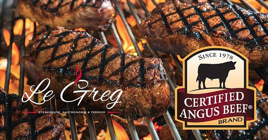 Thetford Mines, Canada: Steakhouse Le Greg de La cache du Domaine
