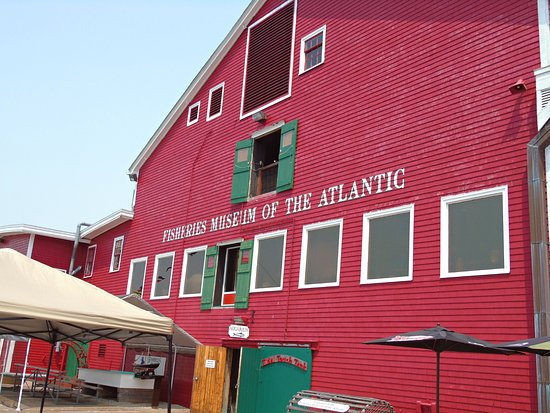 Halifax, Canada: Visited the Fisheries Museum of the Atlantic!