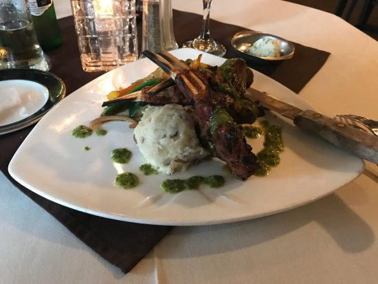 Cocoa, FL: Rack of Lamb