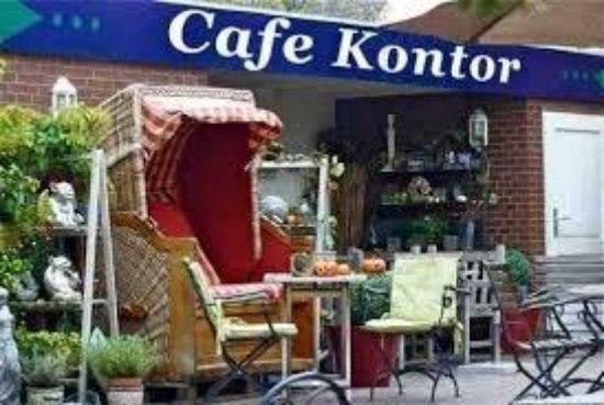 Фемарн, Германия: Garten vom Cafe