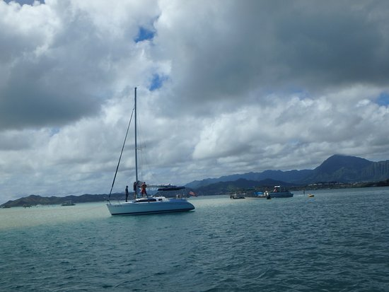Kaneohe, Hawaje: Sandbar in the bay