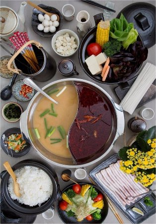 Rivonia, South Africa: Great selection of Hot-Pot .