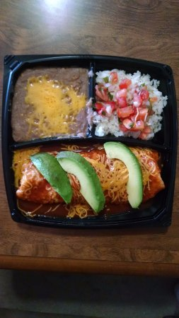 Gilbert, AZ: Carne Asada Wet Burrito Plato