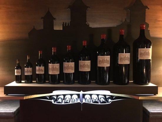 Saint-Estephe, Francia: raccolta di bottiglie di diverso tipo