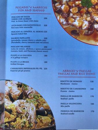 La Cruz de Huanacaxtle, Мексика: Sugerencias de nuestro chef