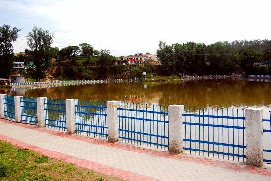 Baijnath Temple: Lake next to the temple
