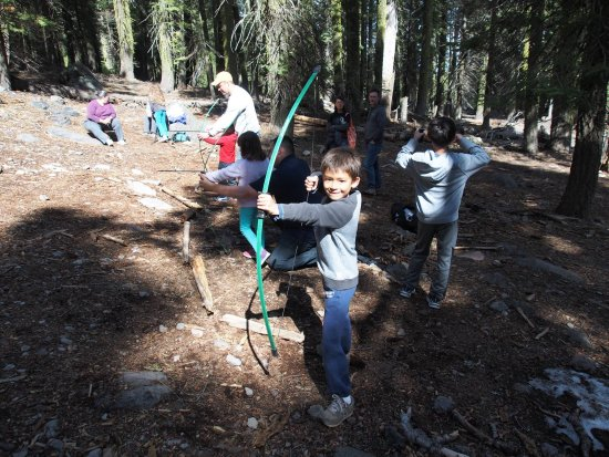 Chester, CA: Daily archery lessons for kids and adults.