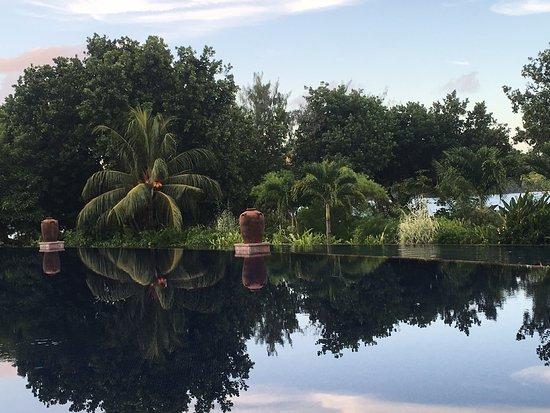 Anse Takamaka, Seychelles: Stunning Pool
