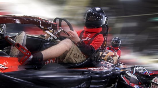 Full Throttle Indoor Karting (Cincinnati) - Book in Destination 2019