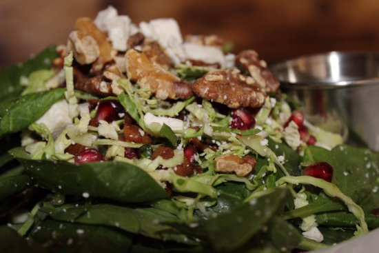 Rockwall, TX: Spinach and Brussels Sprouts Salad