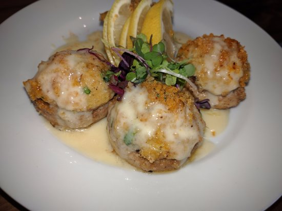 Rockwall, TX: Lump Crab Stuffed Mushrooms, our off menu item offered daily