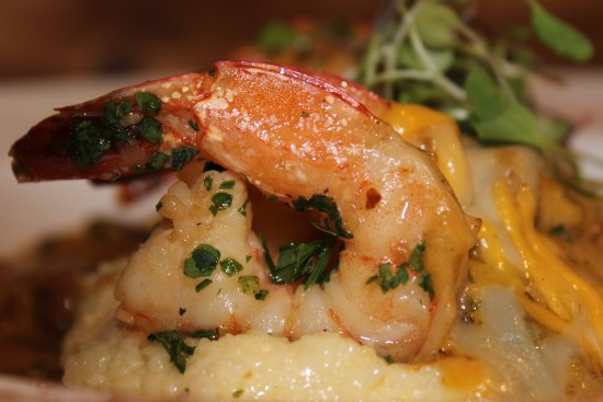 Rockwall, TX: Shrimp and Grits. Our Sunday Special.