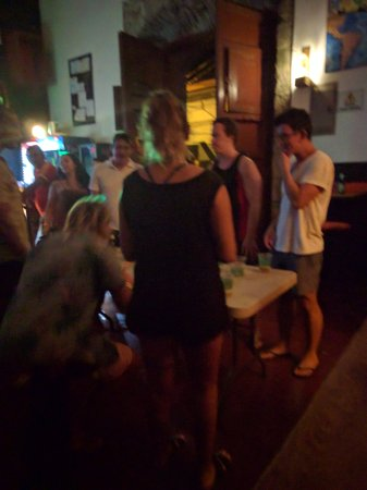 Bigfoot Hostel: Games in the bar