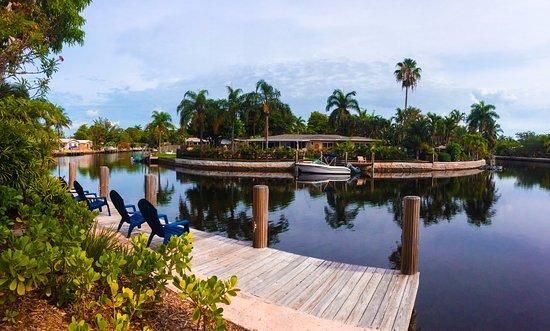 Wilton Manors, FL: Vue sur le Canal