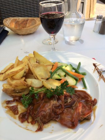 Collonges-sous-Saleve, Frankrike: Saltimbocca