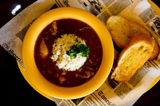Sugar Land, TX: Large Bowl of Gumbo