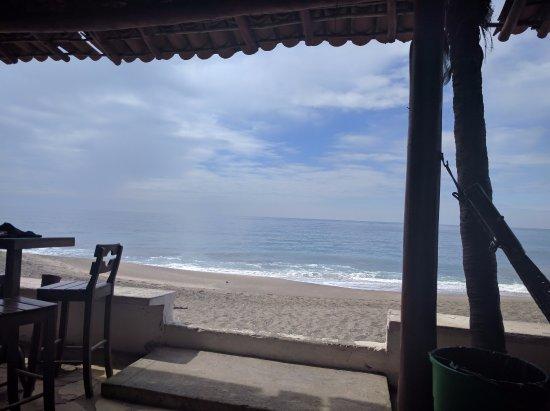 Las Penitas, Nicaragua: View from the bar