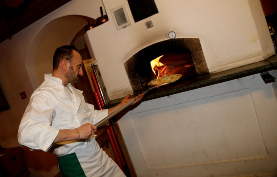 Samedan, Switzerland: Our Oven