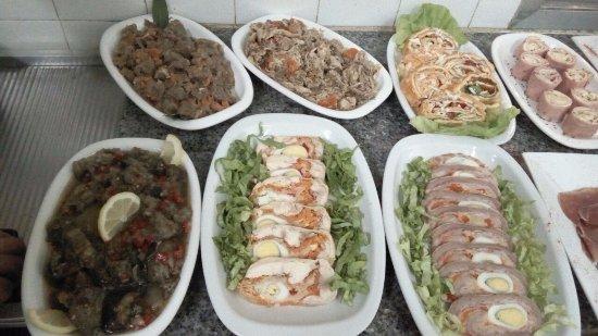 Macachín, Argentina: Salad Bar