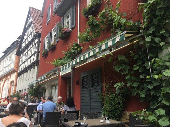 Вайблинген, Германия: Good italian food, nice terrace