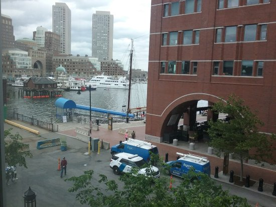 The View From Room 302 During Sail Boston Picture Of The
