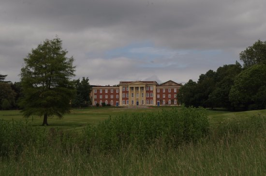 Buckingham, UK: The house from the far side of teh lake