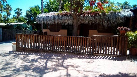 Hotel 1697 Loreto: Private patio, close to restaurants and right on town square
