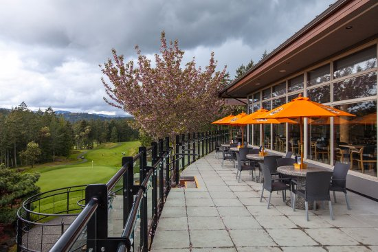 Langford, Canada: A patio with a view