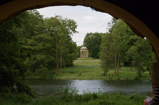 Buckingham, UK: View from inside the Diana cave
