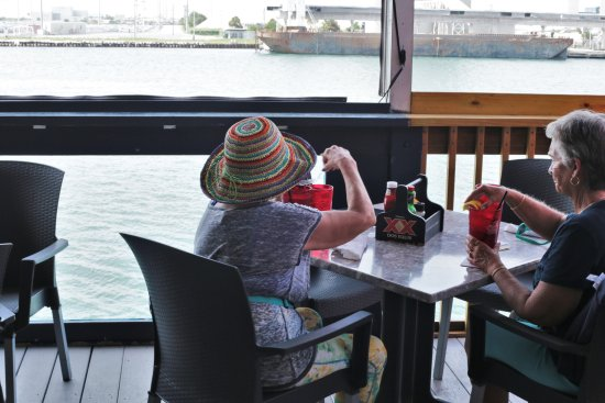 Port Canaveral, ฟลอริด้า: Casual Dining Upstairs
