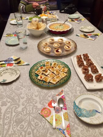 Bonavista, Canada : An evening snack - homemade goodies